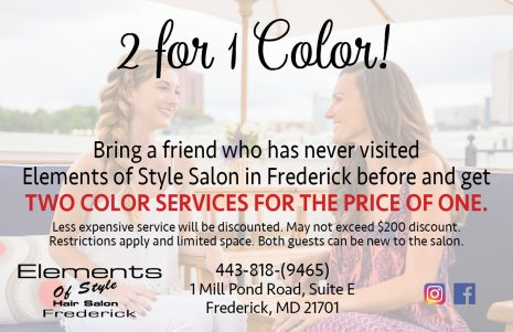eos 2 for 1 color service cards